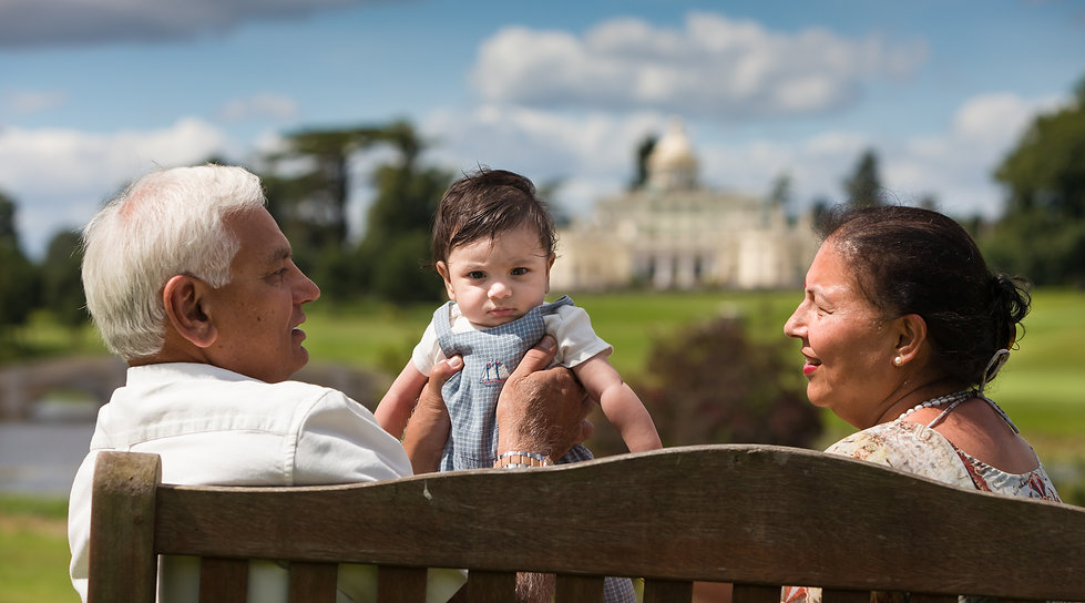 Family photography at Stoke Park