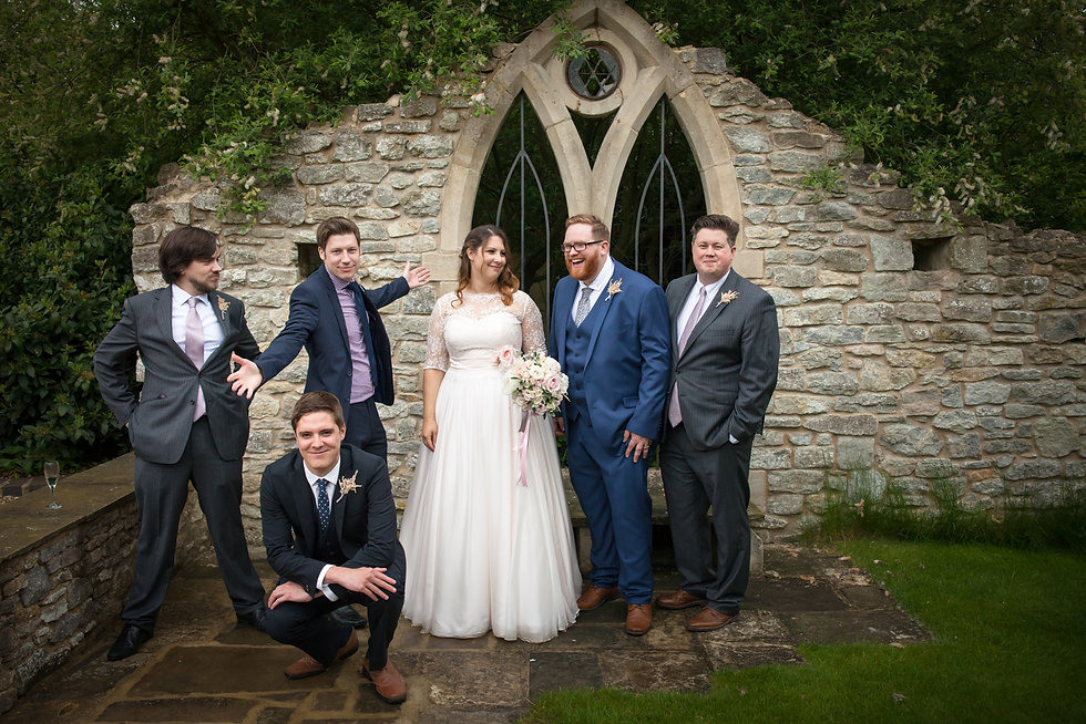 A very relaxed Oxfordshire wedding