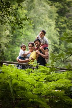 Sheela and family