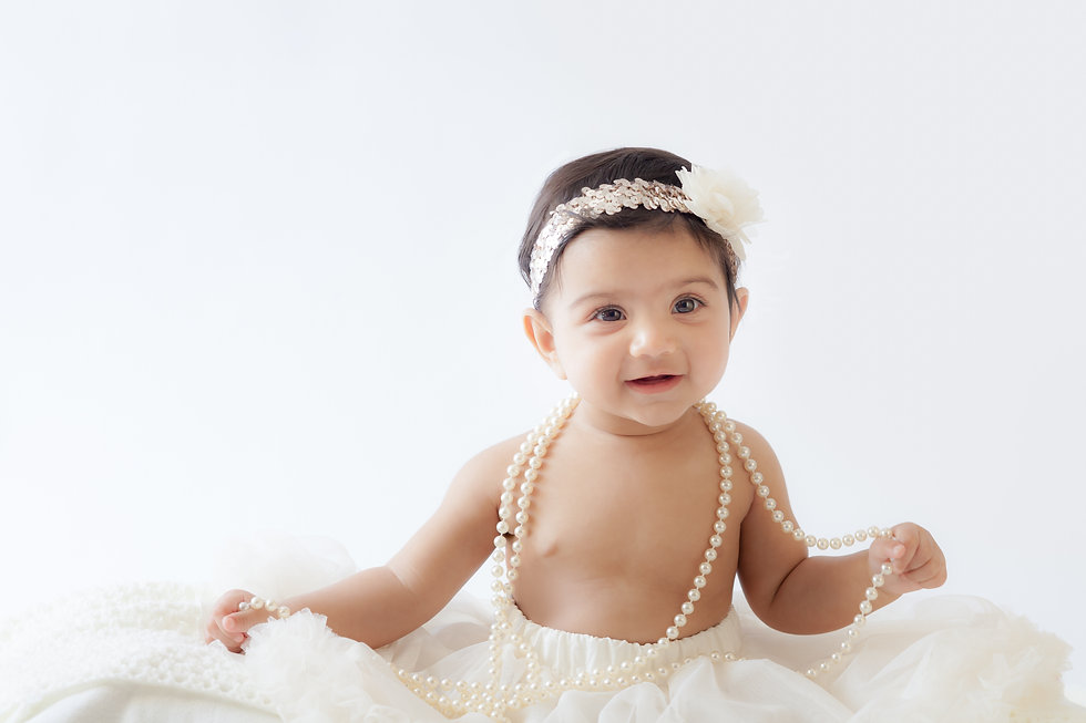 Lovely baby photography at your own home