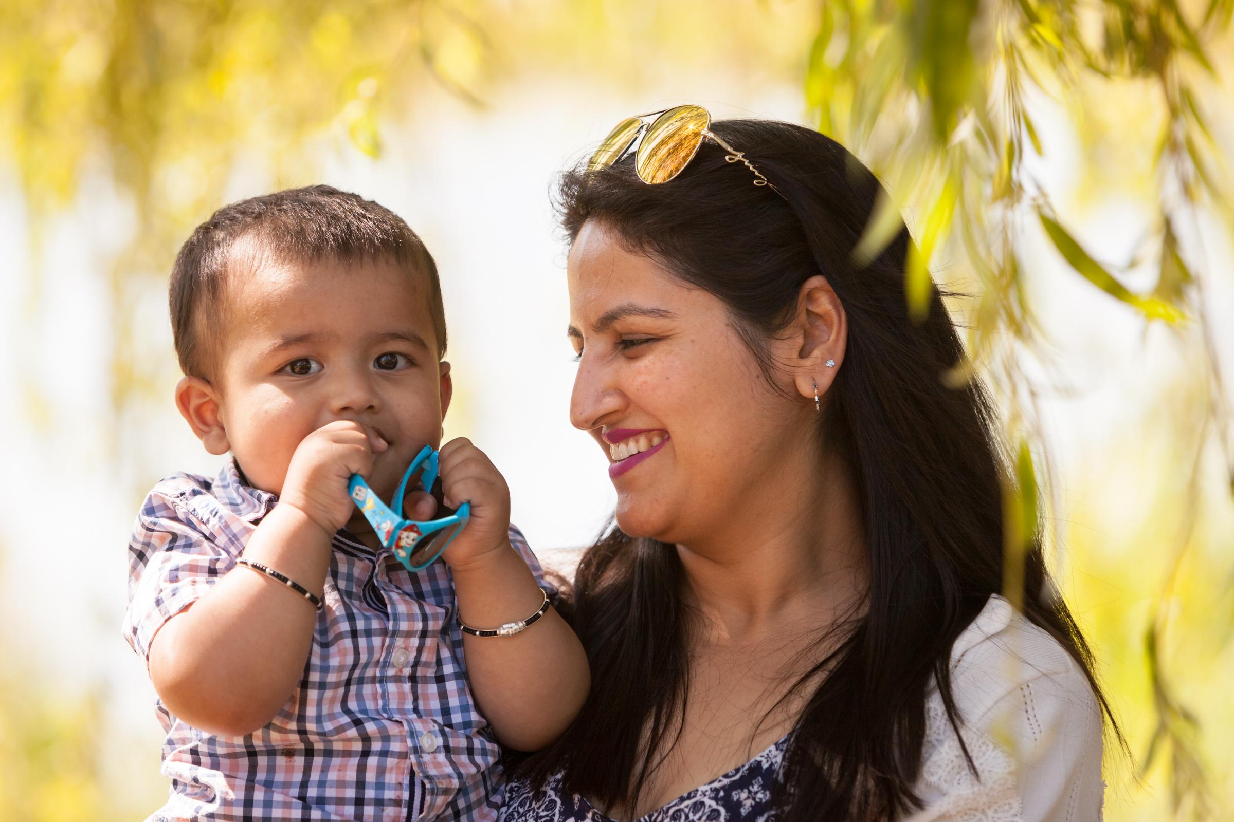 Naini and family
