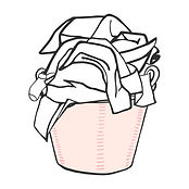 laundry-basket-with-clothes-vector-illus