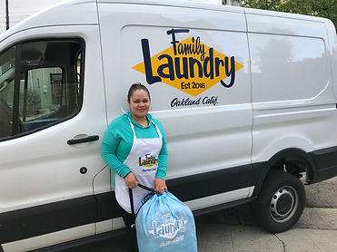 Family Laundry Van