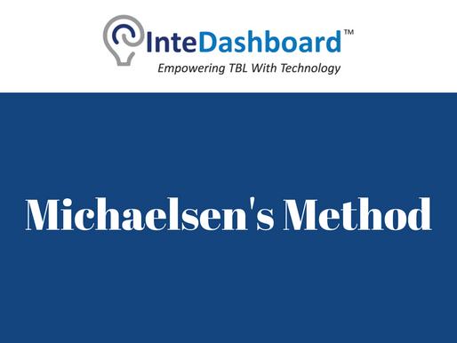 Peer Evaluation: Michaelsen's Method