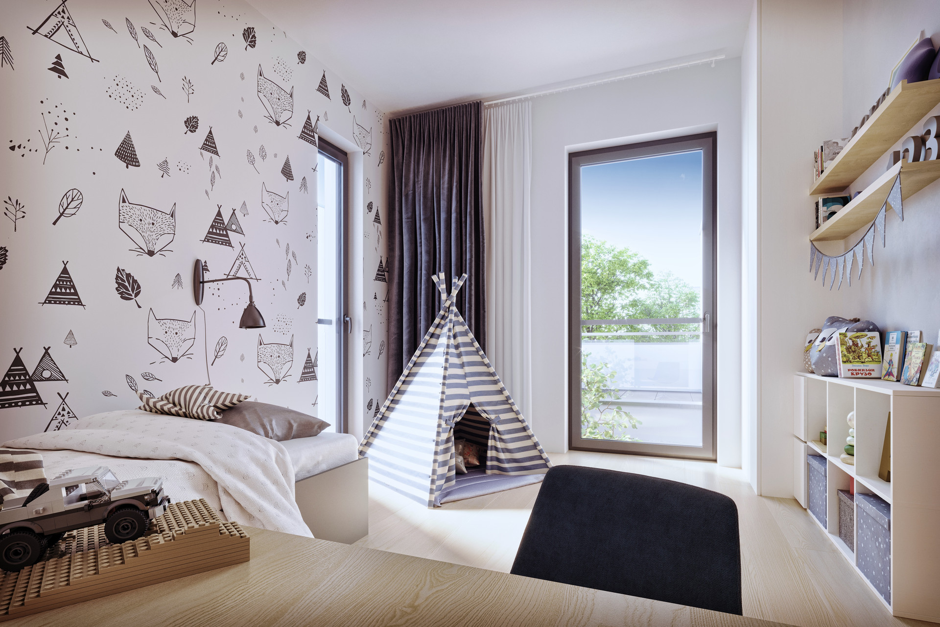 23_1 projekt mieszkania deweloperskiego