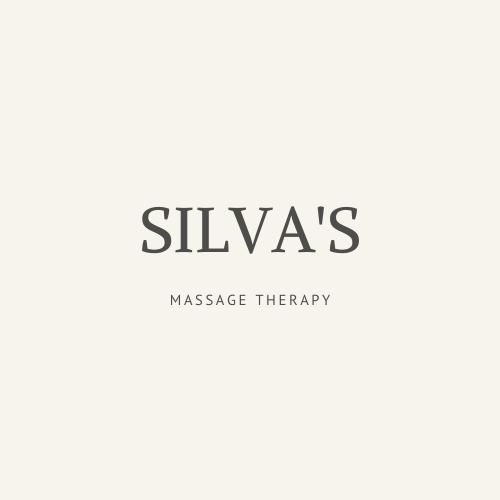 Cream & Gray Massage Logo