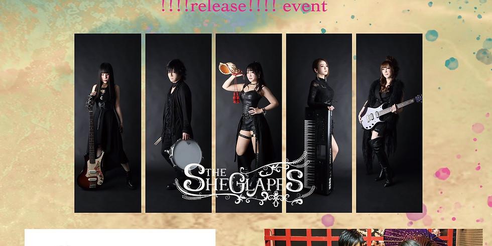 THE SHEGLAPES  1st Full Album「SEIREN」!!!!release!!!! event