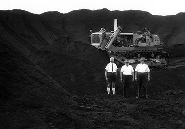 Auckland Point February 1964, - KJ Lee Acting Secretary AG Greasley WR Golding