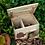 Thumbnail: Winterfestes Igelhaus aus Holz ideal als Winterquartier