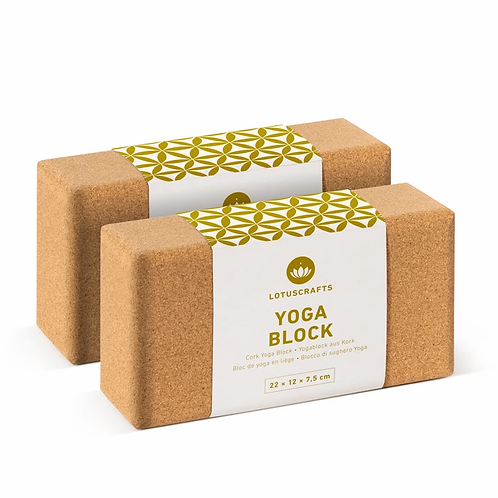 Doppelpack Yogablock KLEIN (2 Stück)