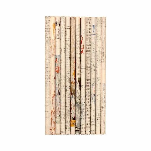 12 Bleistifte aus recyceltem Zeitungspapier