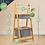 Thumbnail: Hochwertiges Badezimmer-Regal mit 2x Ablagekörben