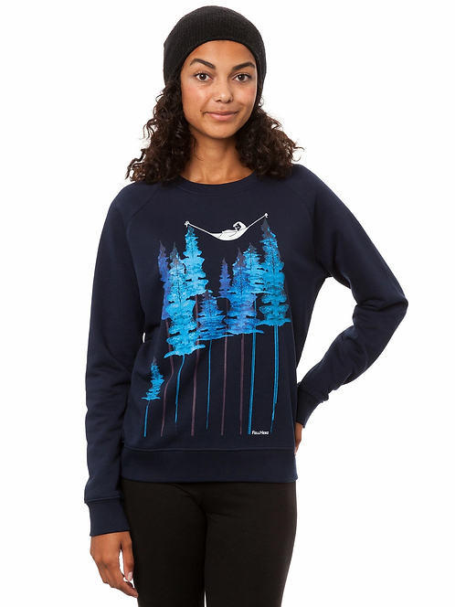 Sweater Wood Girl navy