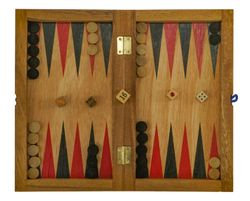 Backgammon + Dame
