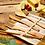 Thumbnail: Mehrteiliges Reisebesteck aus Bambus inkl. Tragetasche