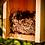 Thumbnail: ökologischer Nistkasten aus massivem Holz für alle Arten von Meisen