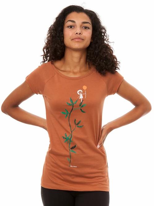 T-Shirt Astmädchen cedar