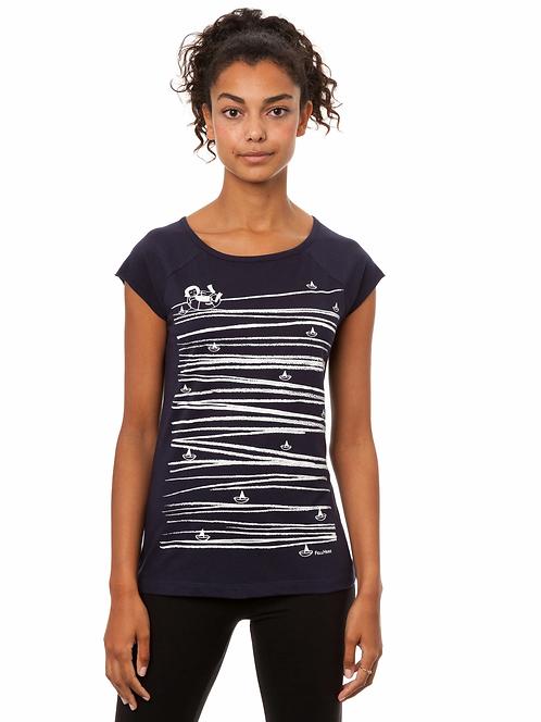 T-Shirt Summertime dark navy