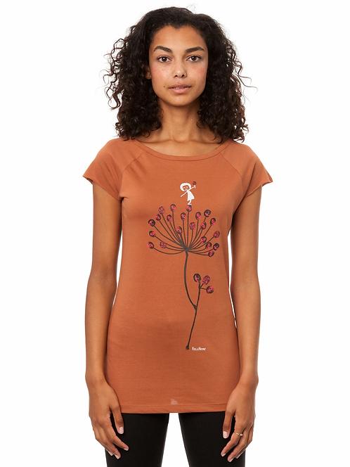 T-Shirt Blütenstempel cedar