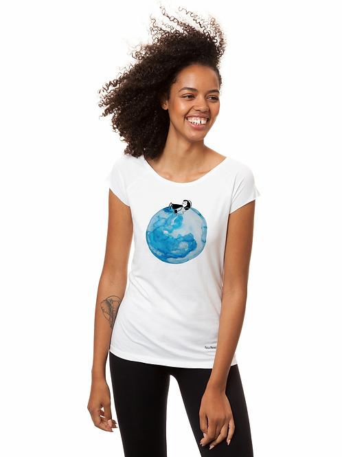 T-Shirt Moongirl white