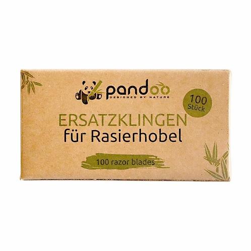 Rasierklingen aus Edelstahl | 100er Pack