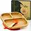 Thumbnail: Premium Bambus Teller inkl. Löffel