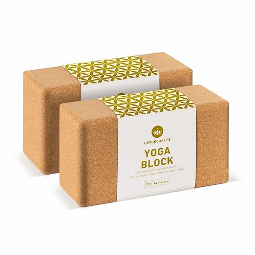 Doppelpack Yogablock (2 Stück)