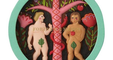 Fortnum & Mason Launches LGBT 'Adam & Steve' Valentine's Day Biscuits