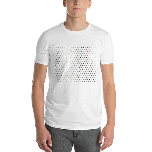 Pretzel T Shirt in white front view