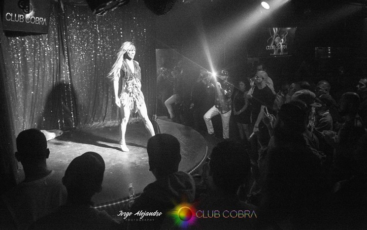 Club Cobra performance stage