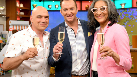 """Clinton Kelly on Life After """"The Chew"""" & Do Hosts Still Stay in Touch"""