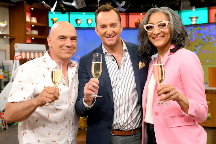 Clinton Kelly & The Chew co-hosts