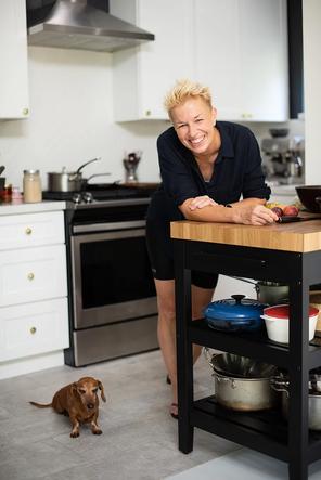 Lesbian Chef Elizabeth Falkner, Giant Food and P&G Celebrate Pride Month