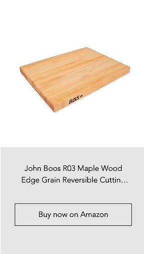 John Boos R03 Maple Wood Edge Grain Reve