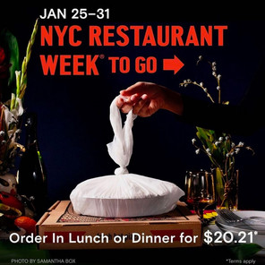 NYC Restaurants Offered Free Participation in Restaurant Week Promo