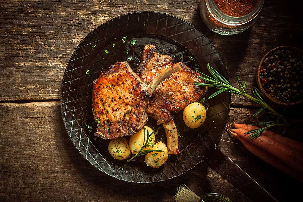 Christine Mansfield Turmeric Pork Chops
