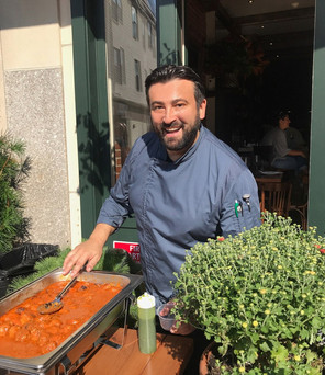 """Italian Chef & """"Chopped"""" Winner Cooks For The Cause of Equality"""