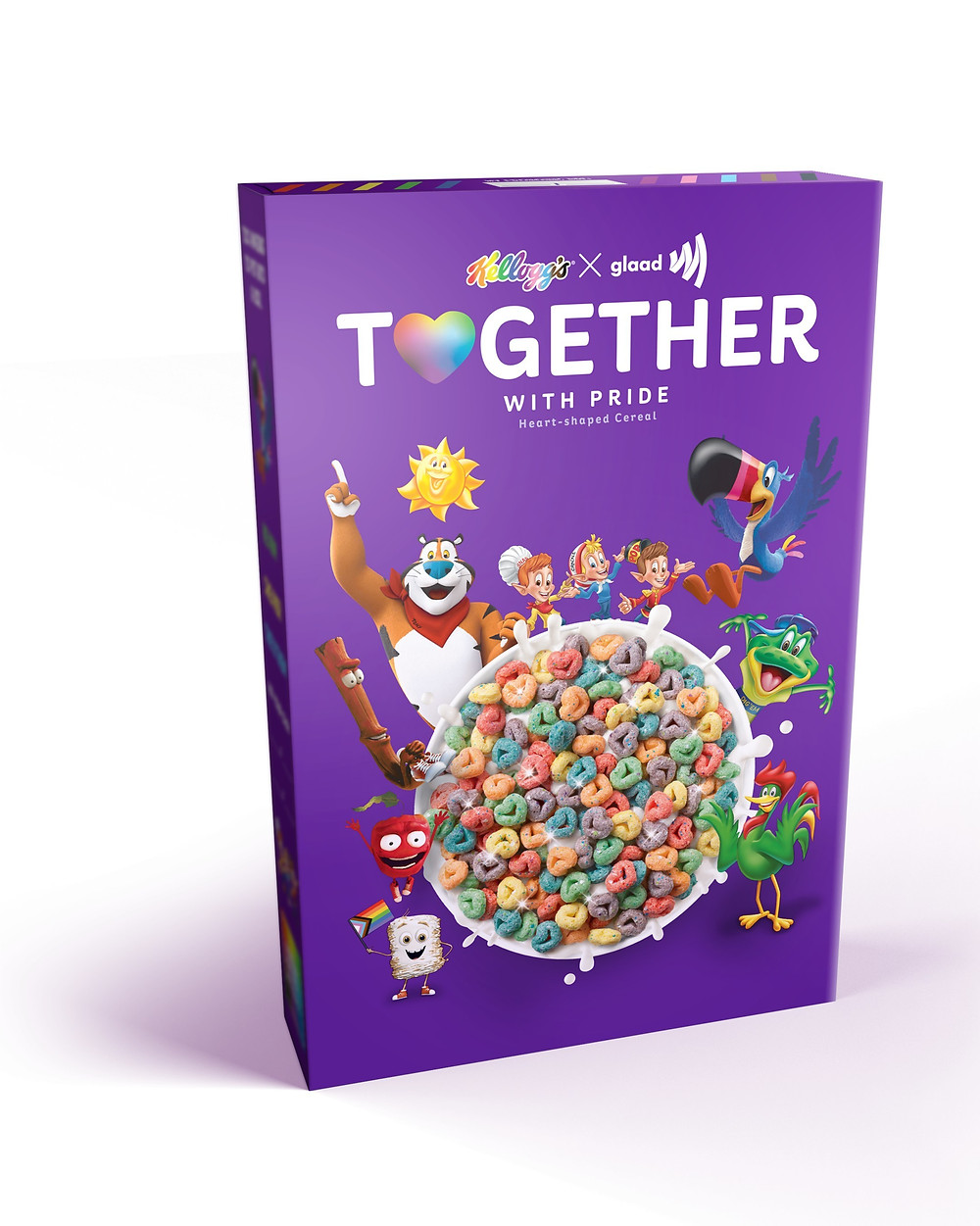 Together With Pride cereal by Kellogg's