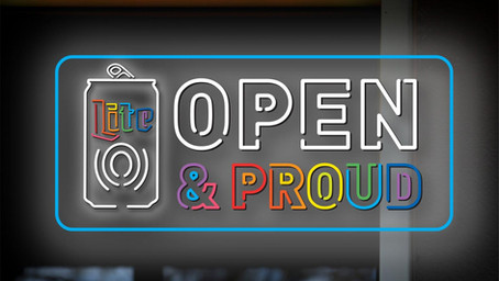 """Miller Lite """"Open & Proud"""" Promotes LGBTQ Safe Spaces at Bars and Equality Federation"""
