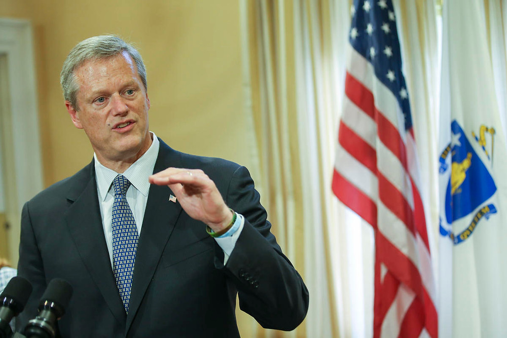 Governor Charlie Baker photo by Nicolaus Czarnecki