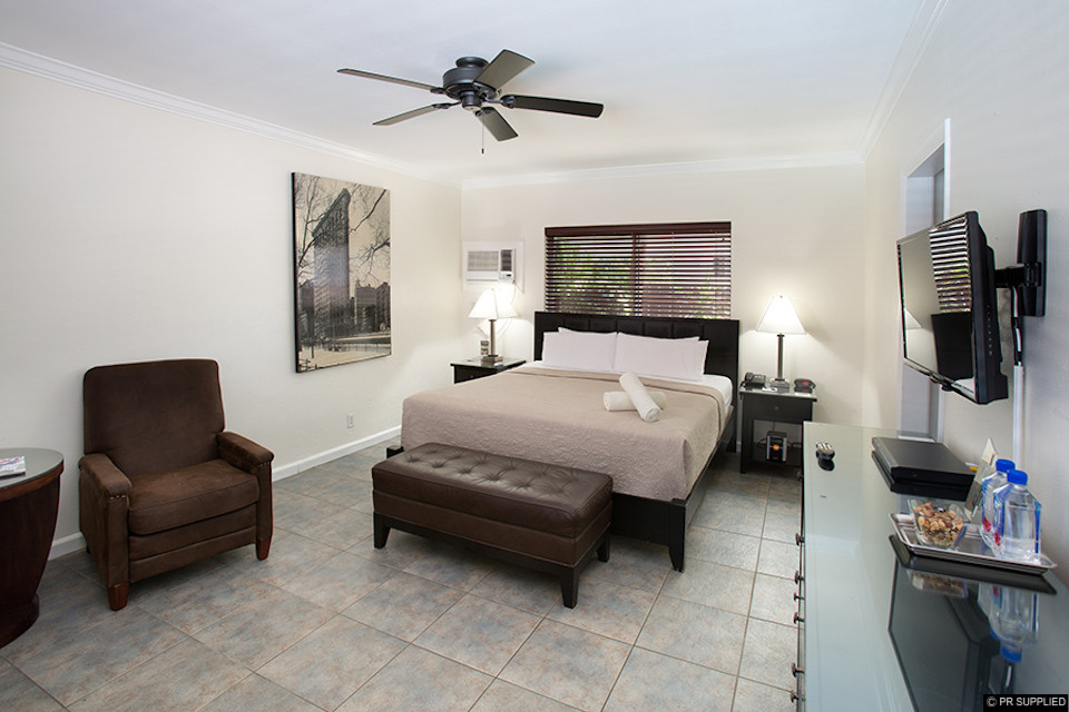 Guest bedroom at The Grand Resort and Spa in Fort Lauderdale