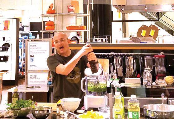 Chef Gil Hovav