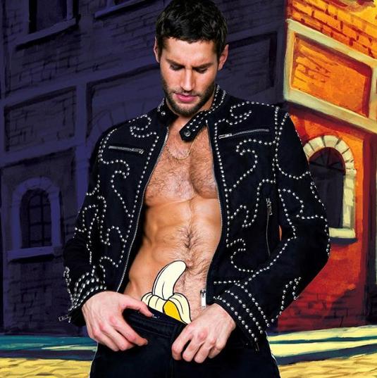 Franco Noriega shirtless gay