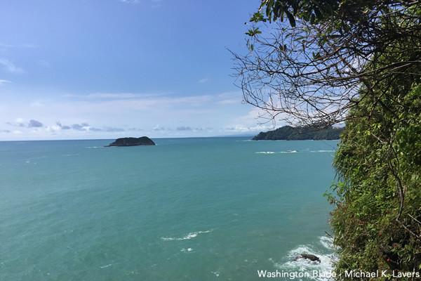 Manuel Antonio beach waters