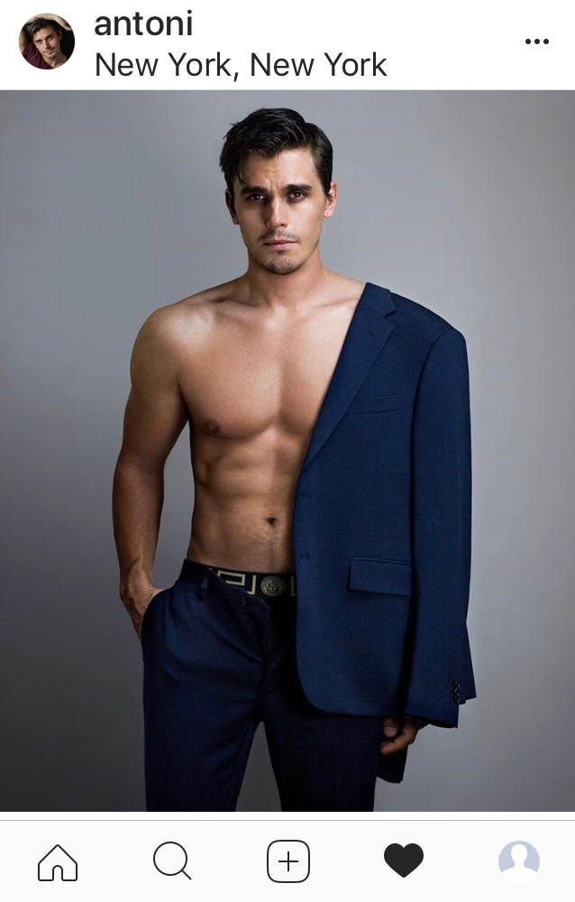 Antoni Porowski shirtless gay chef