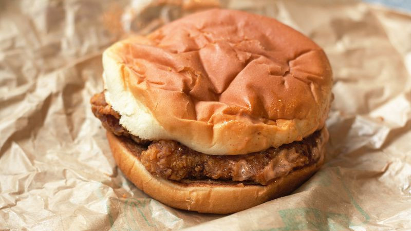 Classic Chicken Sandwich at McDonald's