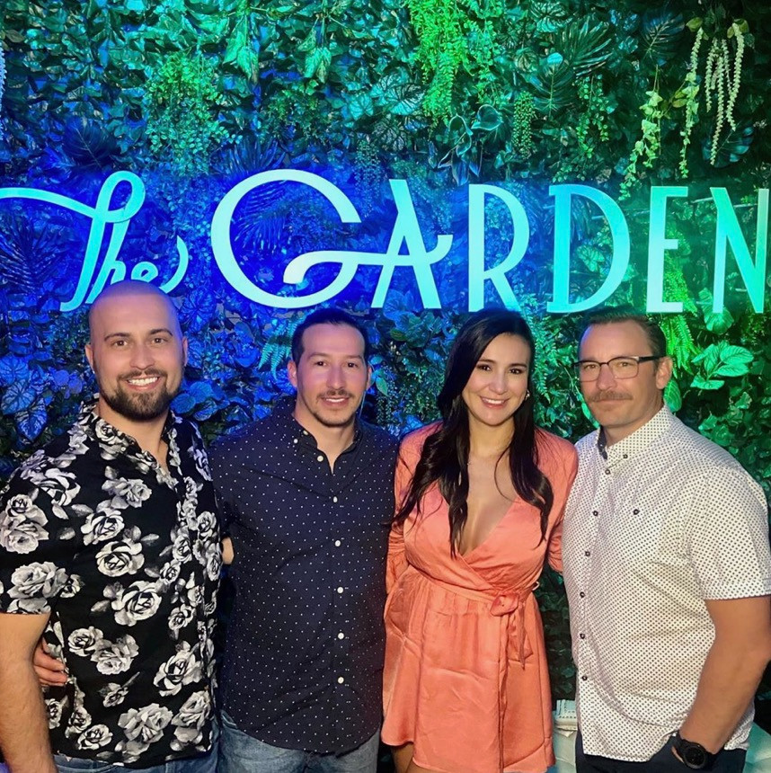 The Garden Las Vegas bar grand opening