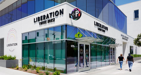 Liberation Coffee House Now Open & Supporting LA Gay Seniors & Youth