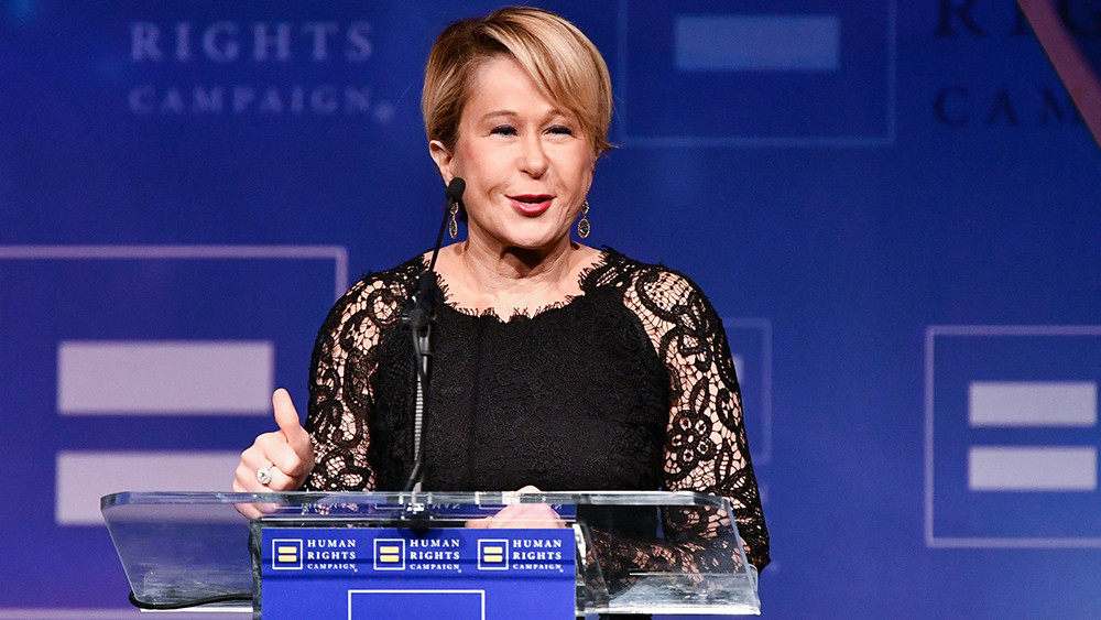 Yeardley Smith at Human Rights Campaign dinner Los Angeles
