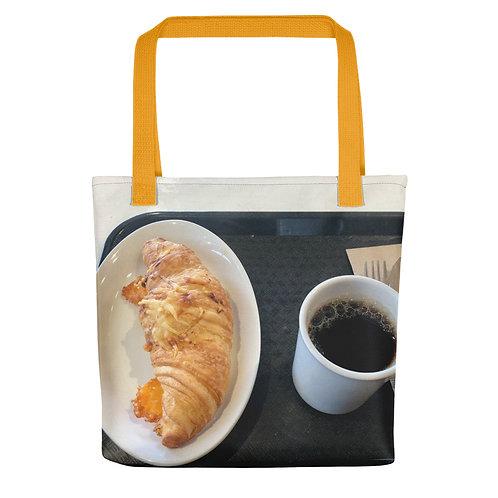 Morning Tote bag yellow handle